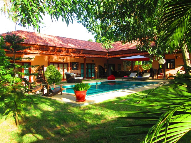 Ko Samui Properties 4 bed bungalow for sale with Studio, Bungalow and Dance Studio for sale, villa,