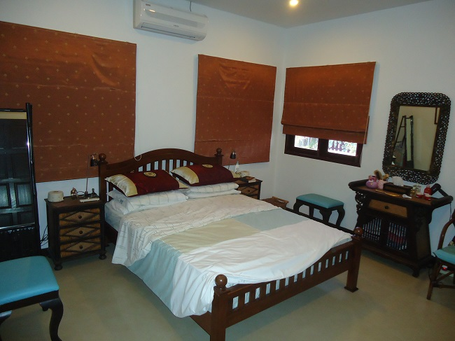 Ko Samui Properties villa for rent, 3 bed bungalow for rent, bedroom 1,