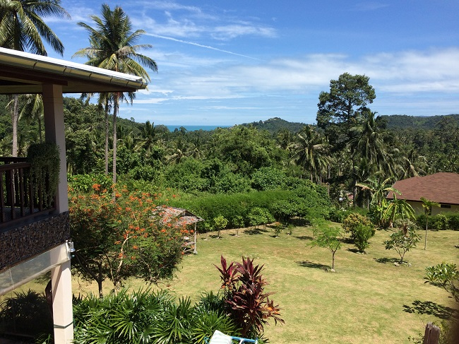 Ko Samui Properties 4 bedroom villa for sale, Sea view villa for sale in Koh Samui, house with large garden for sale in Koh Samui,