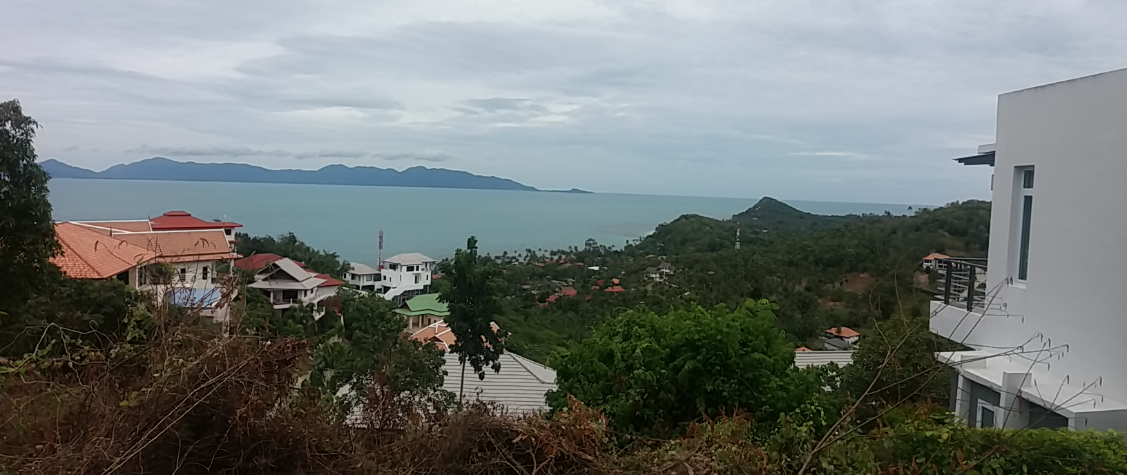 Ko Samui Properties hillside seaview land for sale, Bang Po seaview land for sale,
