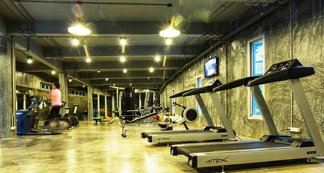 Ko Samui Properties Foreign Freehold Studio Condominium for sale, Foreign Freehold for sale, Replay Condominiums, Gym,