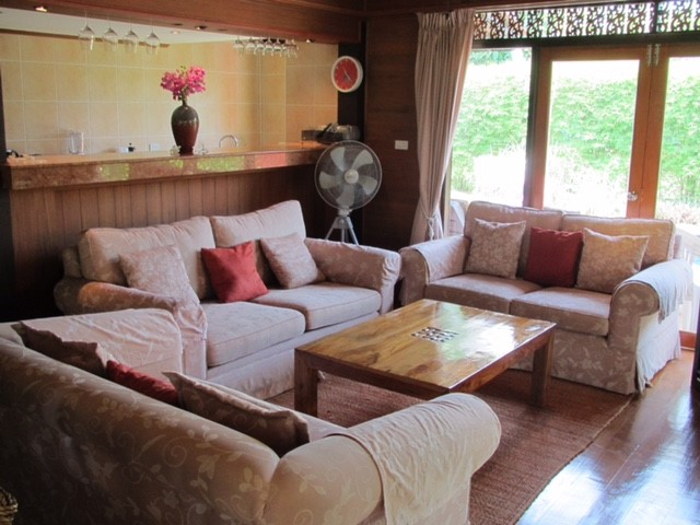 Ko Samui Properties beach villa for sale, Teak House 50m from a Beach for sale in Koh Samui,