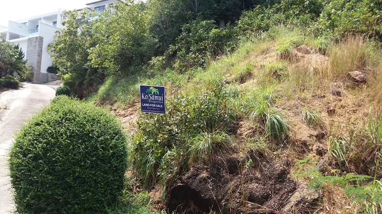 Ko Samui Properties sea view land for sale, Choengmon land for sale,