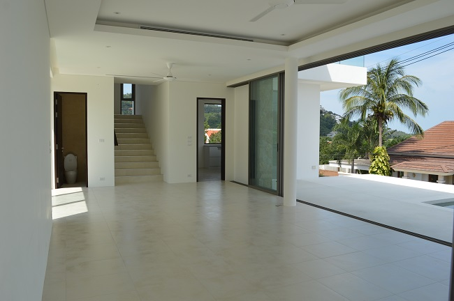 Ko Samui Properties New Sea view Villa for sale, Sea view villa for Sale, Pool villa for sale, Thailand villa for sale,