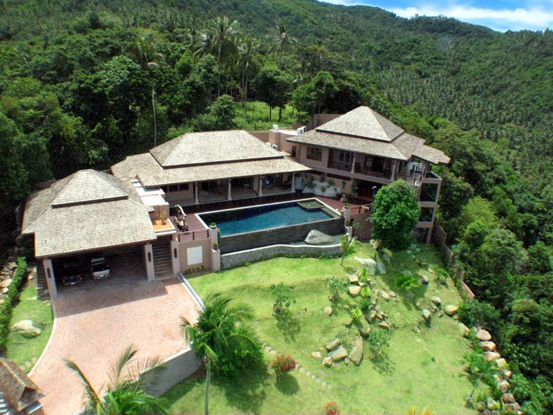 Ko Samui Properties sea view villa for sale, Chaweng villa for sale,