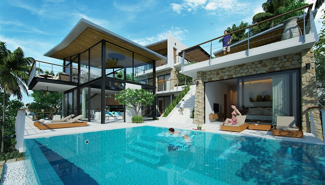 Ko Samui Properties new villas for sale, New luxury villas for sale in Koh Samui,