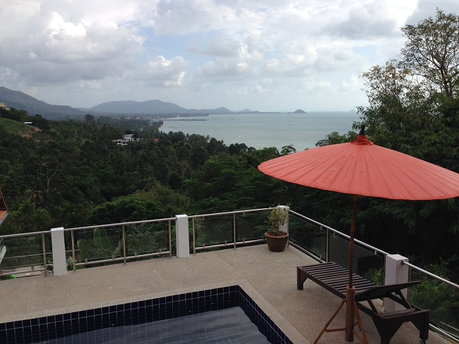 Ko Samui Properties bungalow for sale, Sea view bungalow for sale near Nathon,