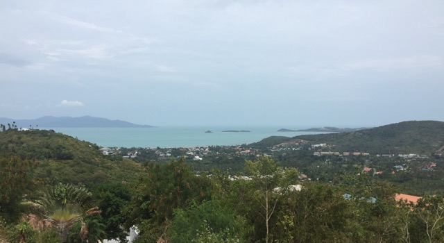 Ko Samui Properties 1 Rai sea view land for sale, Bophut Hills land for sale,
