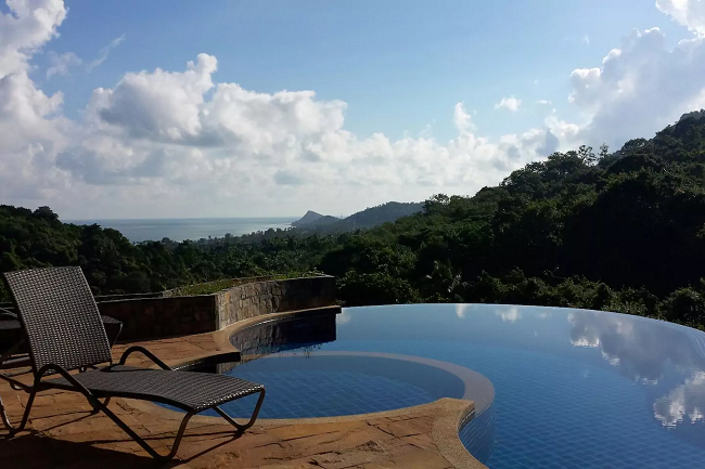 Ko Samui Properties sea view villa for sale, Koh Samui property for sale,