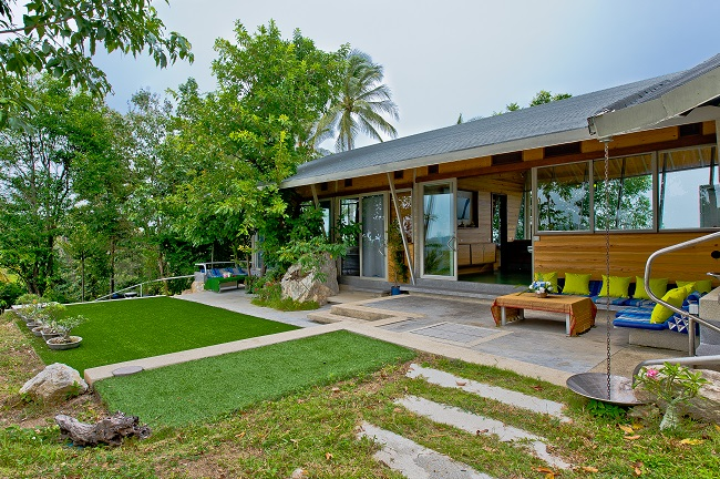 Ko Samui Properties hill top villa for sale, luxury villa for sale in Koh Samui, Property for sale in Koh Samui.