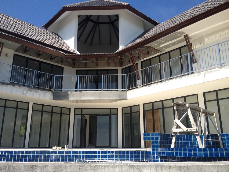 Ko Samui Properties Luxury villa for sale, distressed property for sale, unfinished luxury villa for sale in Koh Samui, Thailand property for sale,