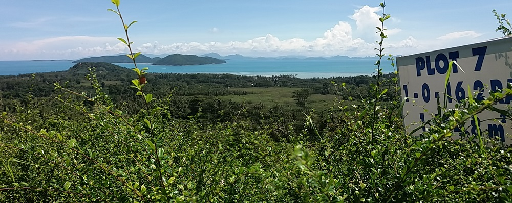 Ko Samui Properties Luxury land plots for sale, sea view land plots for sale, one rai land plots for sale,