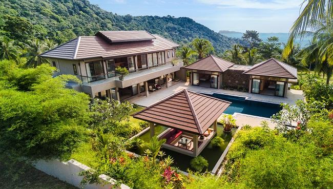 Ko Samui Properties pool villa for sale in Angthing Hills, Ko Samui Properties sea view villa for sale in Koh Samui, property for sale in Thailand,