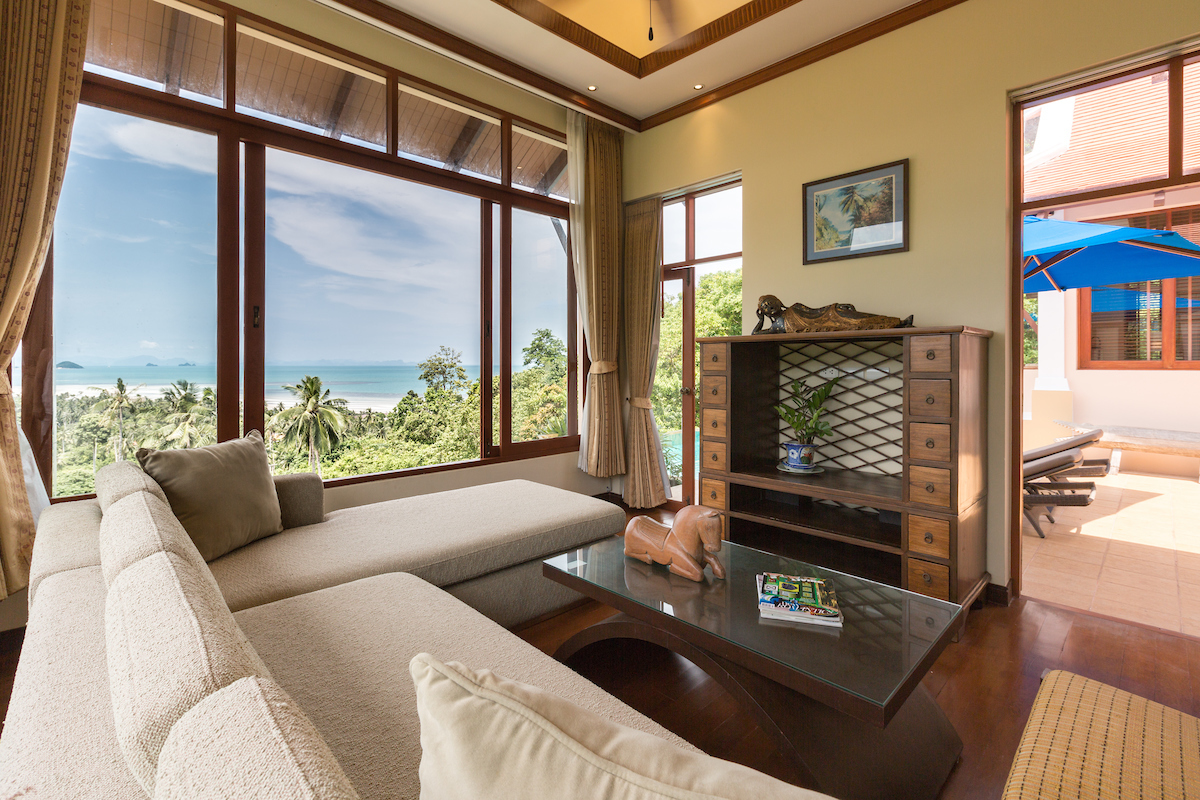 Ko Samui Properties sea view villa for sale, Koh Samui real estate for sale, Property for sale in Koh Samui,