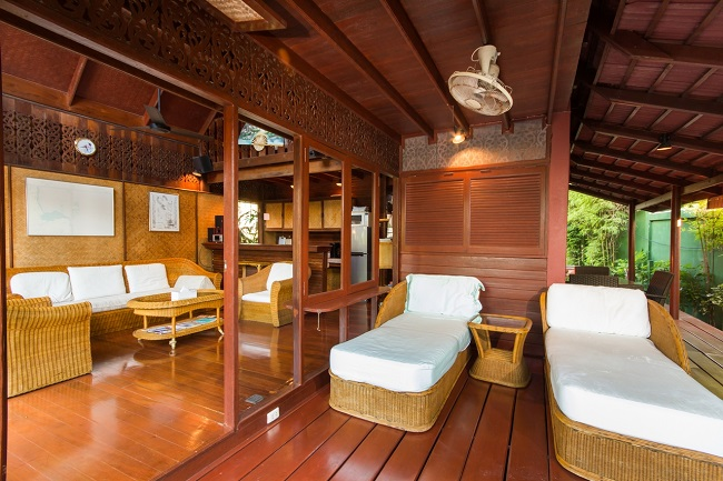 Ko Samui Properties vacation villa for sale on long lease, beach villa for sale,