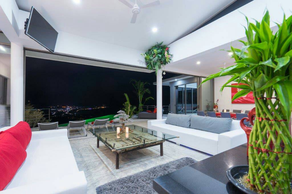 Ko Samui Properties luxury rental villa, 6 bedroom luxury villa to rent,