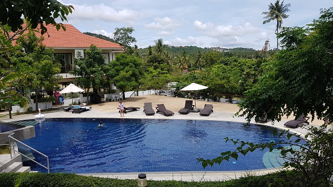 Ko Samui Properties long term rental, Ko Samui Properties two bedroom townhouse to rent, Choengmon town house to rent,