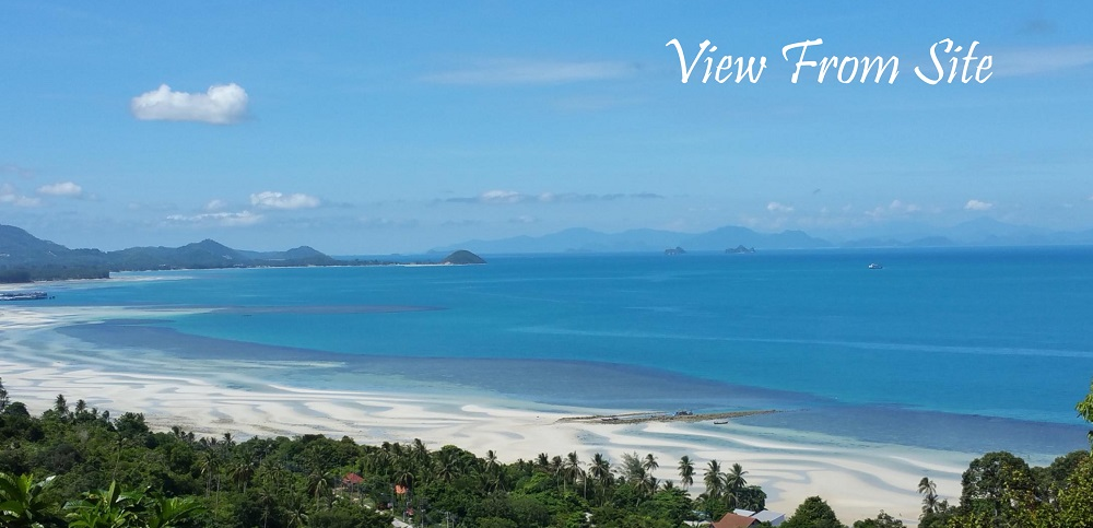 Ko Samui Properties sea view land for sale, hillside land for sale in Koh Samui,