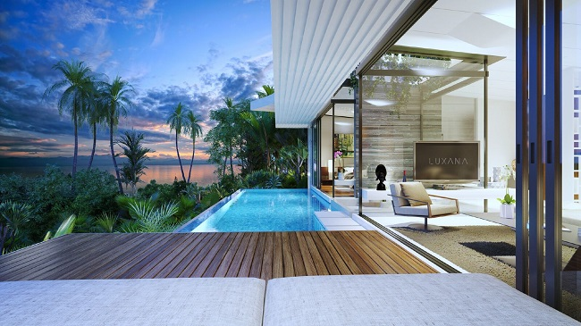 Ko Samui Properties new sea view villas for sale, 3 bedroom villas for sale,