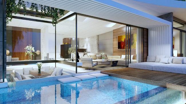 Ko Samui Properties new sea view villas for sale, 3 bedroom villas for sale,