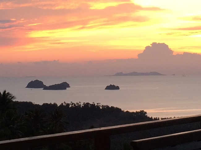 Ko Samui Properties Sea View villa for Sale, Five Islands view villa for Sal