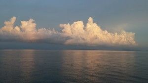 Early morning cloud off Ko Samui